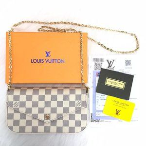 Louis Vuitton Felicie Clutch